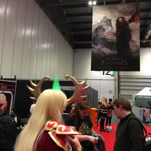 Mortal Engines making a mark at the show.