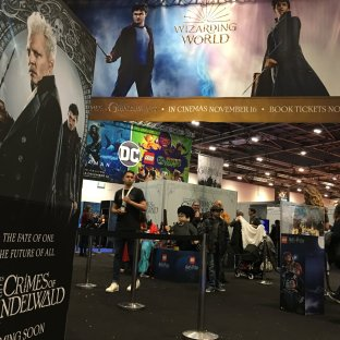 """Fantastic Beasts: Crime of Grindelwald"" is being heavily promoted."