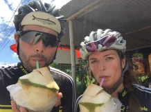 We named the tour 'Cocoroad' - however, it took us a lot of time to find the next coconut...