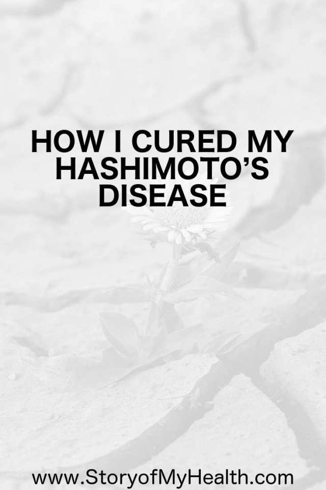 It is completely possible to heal from Hashimoto's disease. I am hoping my story of beating Hashimoto's can inspire others to take back their life.