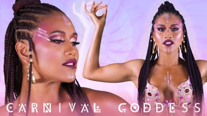 Carnival Goddess Makeup Tutorial
