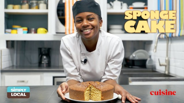 E6: Sponge Cake | Simply Local by Eathahfood