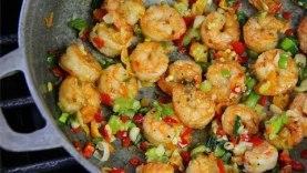 E7: Tasty Pepper Shrimp   Caribbean Pot