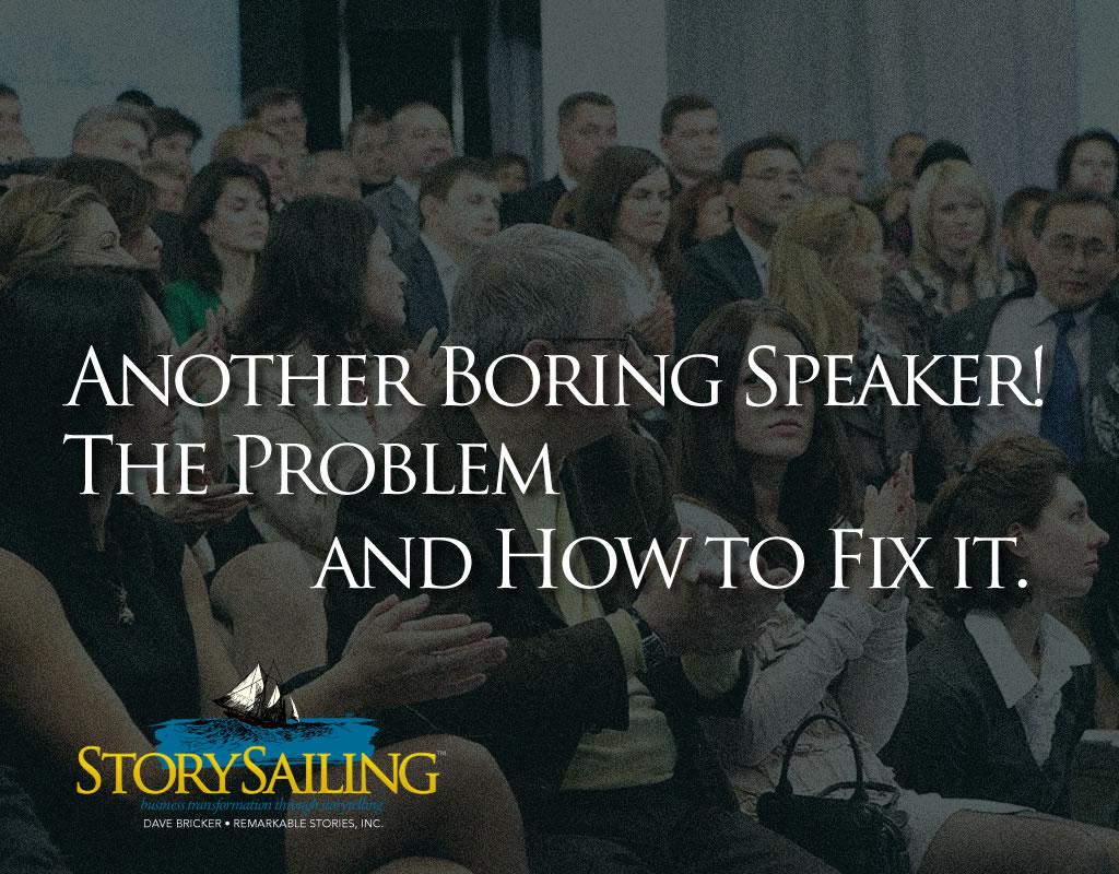 Another boring speaker