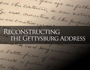 StorySailing<sup>®</sup>: Reconstructing the Gettysburg Address