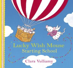 Lucky Wish Mouse Starting School
