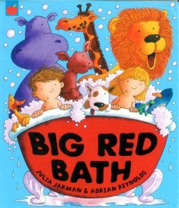 Big Red Bath - Story Snug