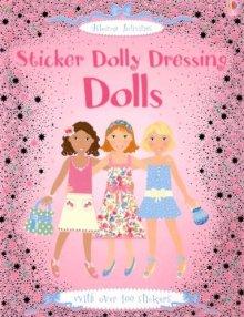 Sticker Dolly Dressing Dolls - Story Snug