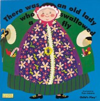 There was an old lady who swallowed a fly - Story Snug