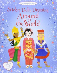 Sticker Dolly Dressing Around the World - Story Snug