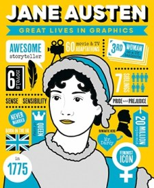 Great Lives In Graphics - Jane Austen - Story Snug