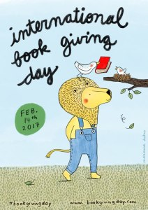 International Book Giving Day Poster 2017 - Story Snug