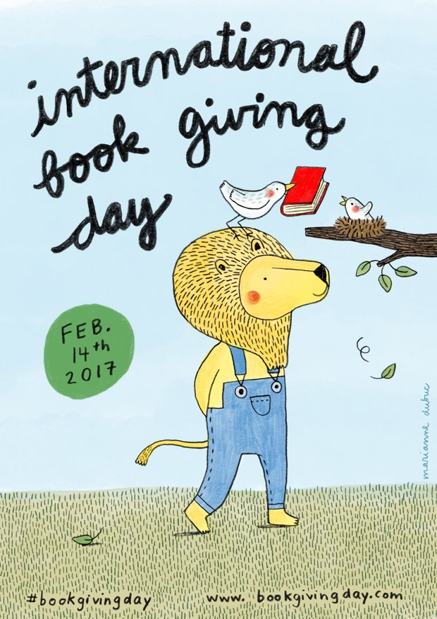International Book Giving Day Logo 2017 - Story Snug
