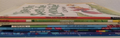 Animal Dancing book spine poem - Story Snug