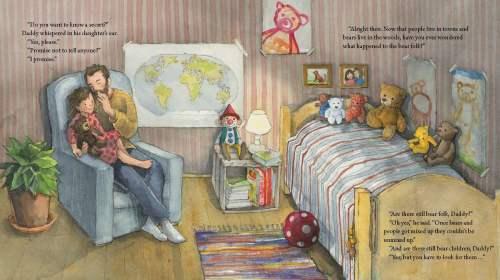 Bear Child Spread Two - Story Snug