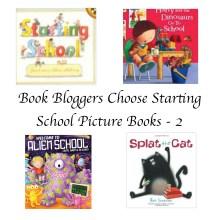 Book Bloggers choose starting school books 2 Story Snug http://storysnug.com