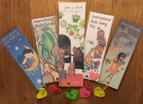 #bookgivingday Bookmarks - Story Snug