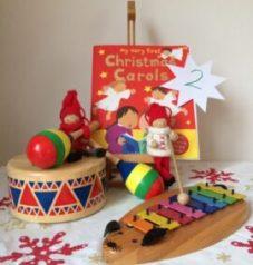 Christmas & Snowy 2 Story Snug