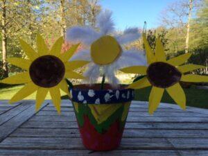 Craft Sunflowers- Mummy's Little Sunflowers - Story Snug