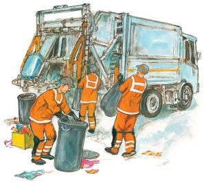 Dogger's Christmas - Refuse Workers - Story Snug