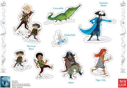 Peter Pan figures - Story Snug