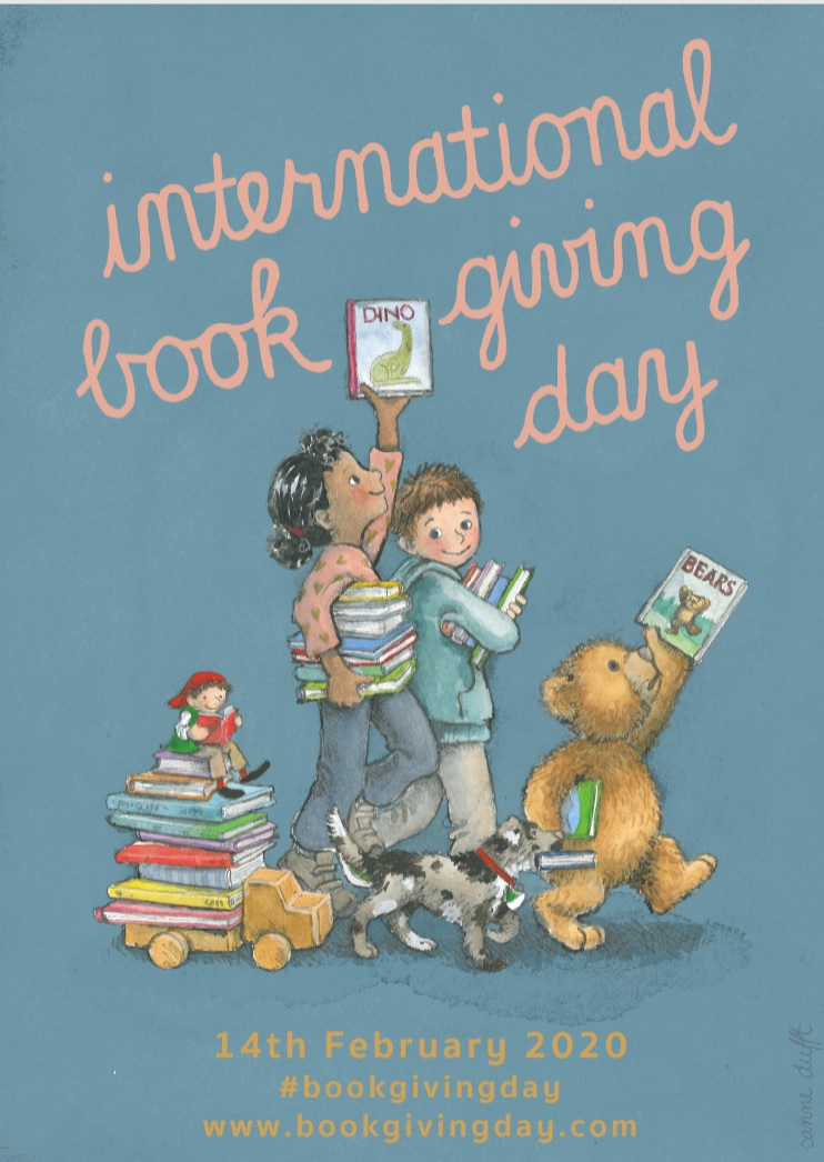 2020 International Book Giving Day poster - Story Snug