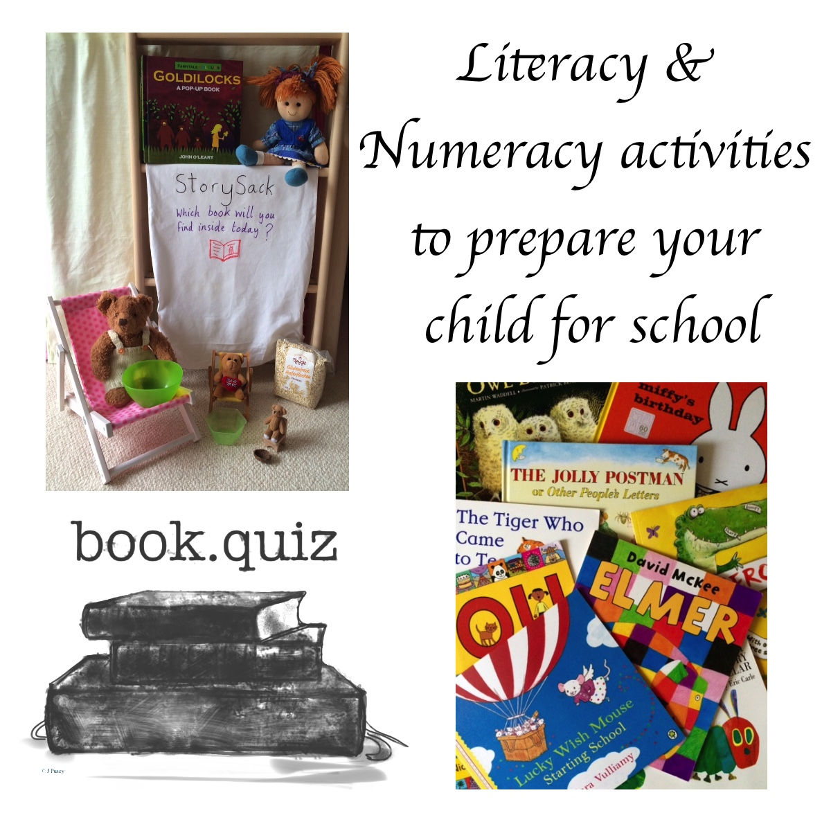 Literacy & Numeracy activities to prepare your child for school