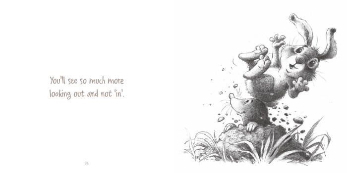 Little Bunny's Book of Thoughts (mole) - Story Snug