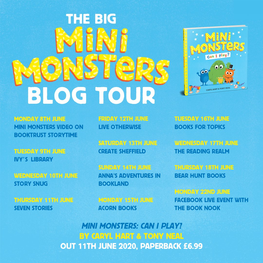 Mini Monsters Blog Tour - Story Snug