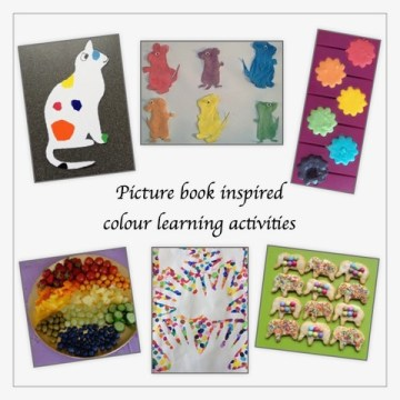 Picture Book Inspired Colour Learning Activities - Story Snug