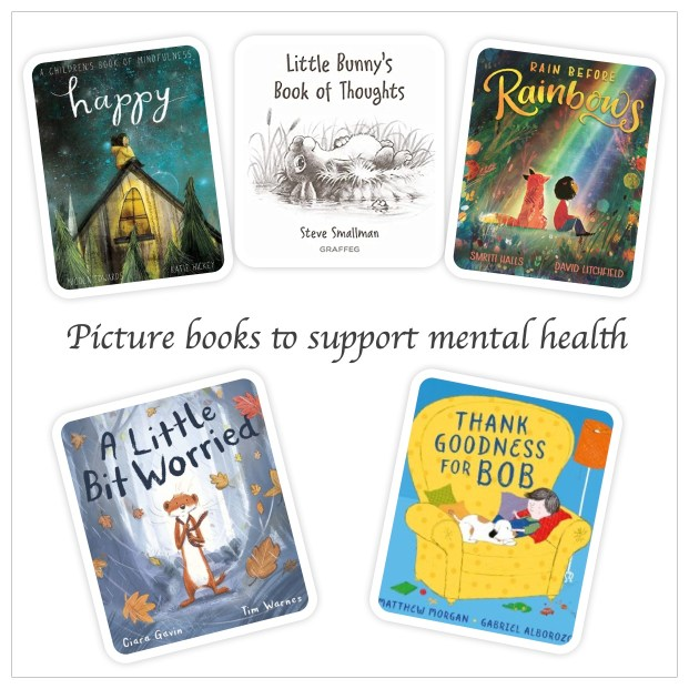 Picture books that can support mental health - Story Snug