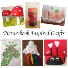 Picturebook inspired crafts Story Snug http://storysnug.com