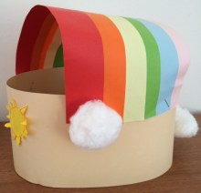 Rainbow headband Story Snug