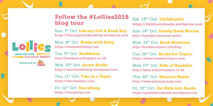 #Lollies2018 blogtour - Story Snug