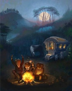 Campfire - The Wind in the Willows - Story Snug