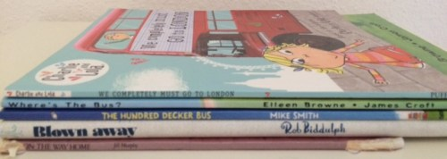 Transport Book Spine Poem - Story Snug
