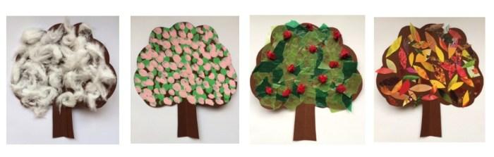 Tree Seasons Story Snug