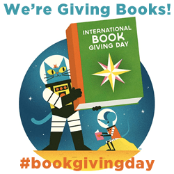 International Book Giving Day Blog Badge Story Snug