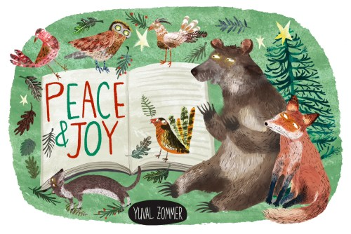 Forest Christmas by Yuval Zommer - #StorySnugAdvent