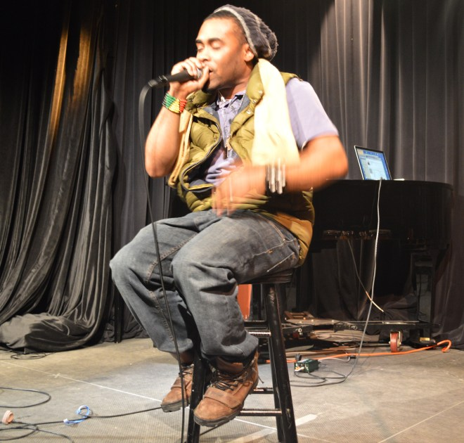 Jarmel Reece at The Weight of Words Concert, Perception Isn't Always Reality 02/28/15