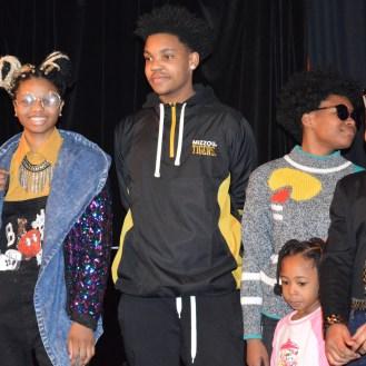 Stitchers Teen Council models