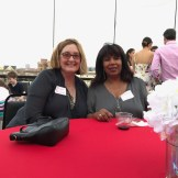 Susan Colangelo, President and Executive Director and Cassandria White, Vice President