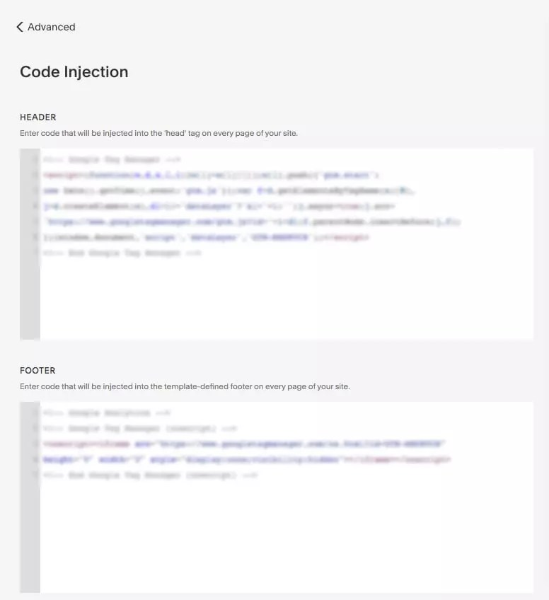 How To Set Up Google Tag Manager (GTM) On A Squarespace - Code Injection