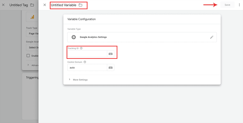 How To Set Up Google Tag Manager (GTM) On A Squarespace - New Tag 1