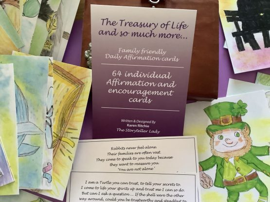 The Treasury of life & so much more Affirmation Cards