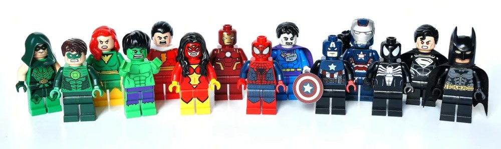 Lego superheroes marvel + DC