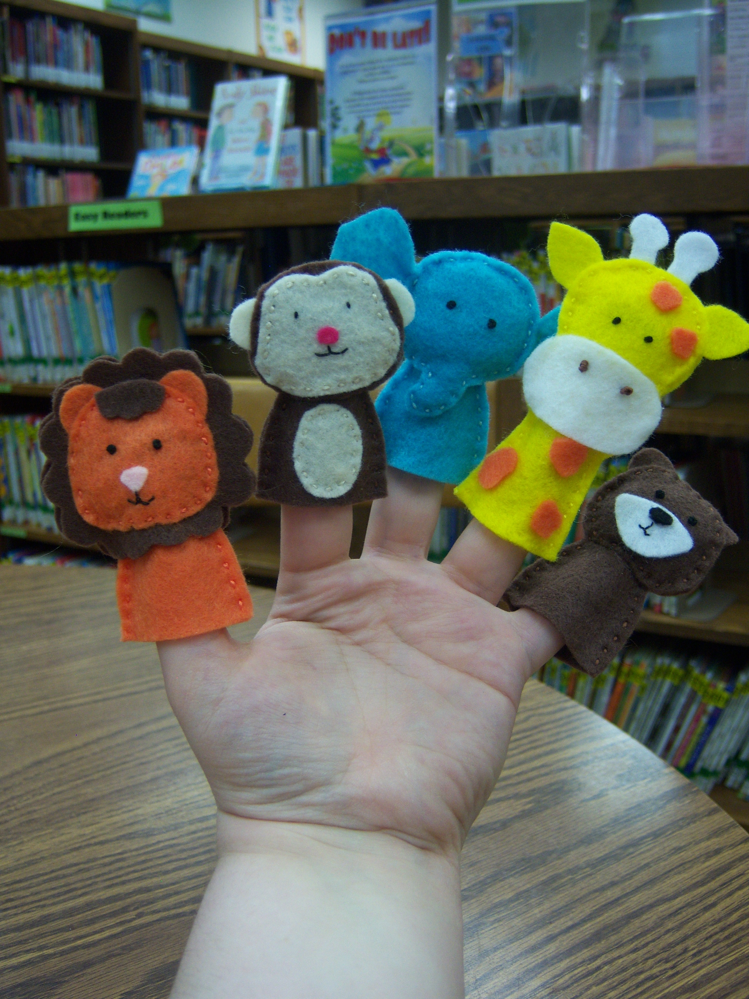 Flannel Friday Jungle Puppets