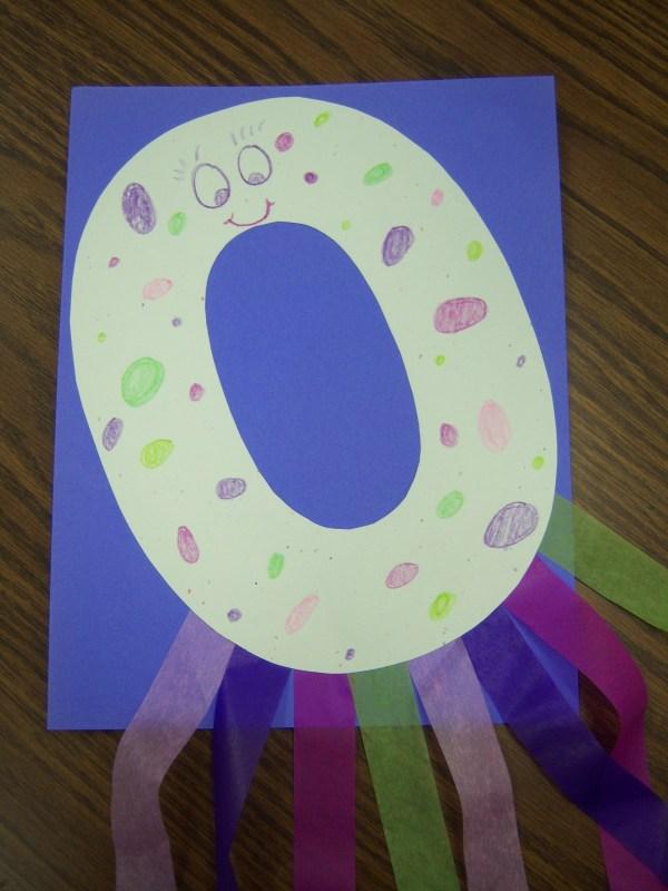 Letter O Preschool Craft