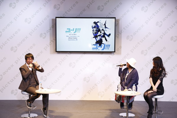 Yuri!!! on ICE Production Announcement Talk