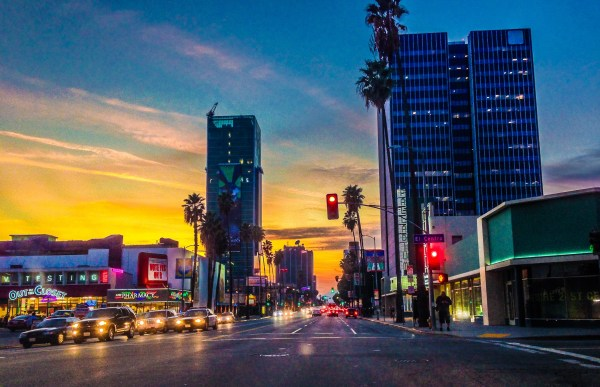 landscape of los angeles - storyv